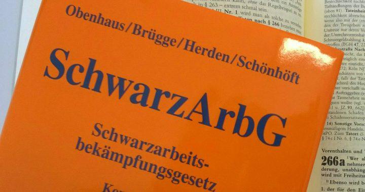 Obenhaus / Brügge / Herden / Schönhöft, Kommentar zum Schwarzarbeitsbekämpfungsgesetz