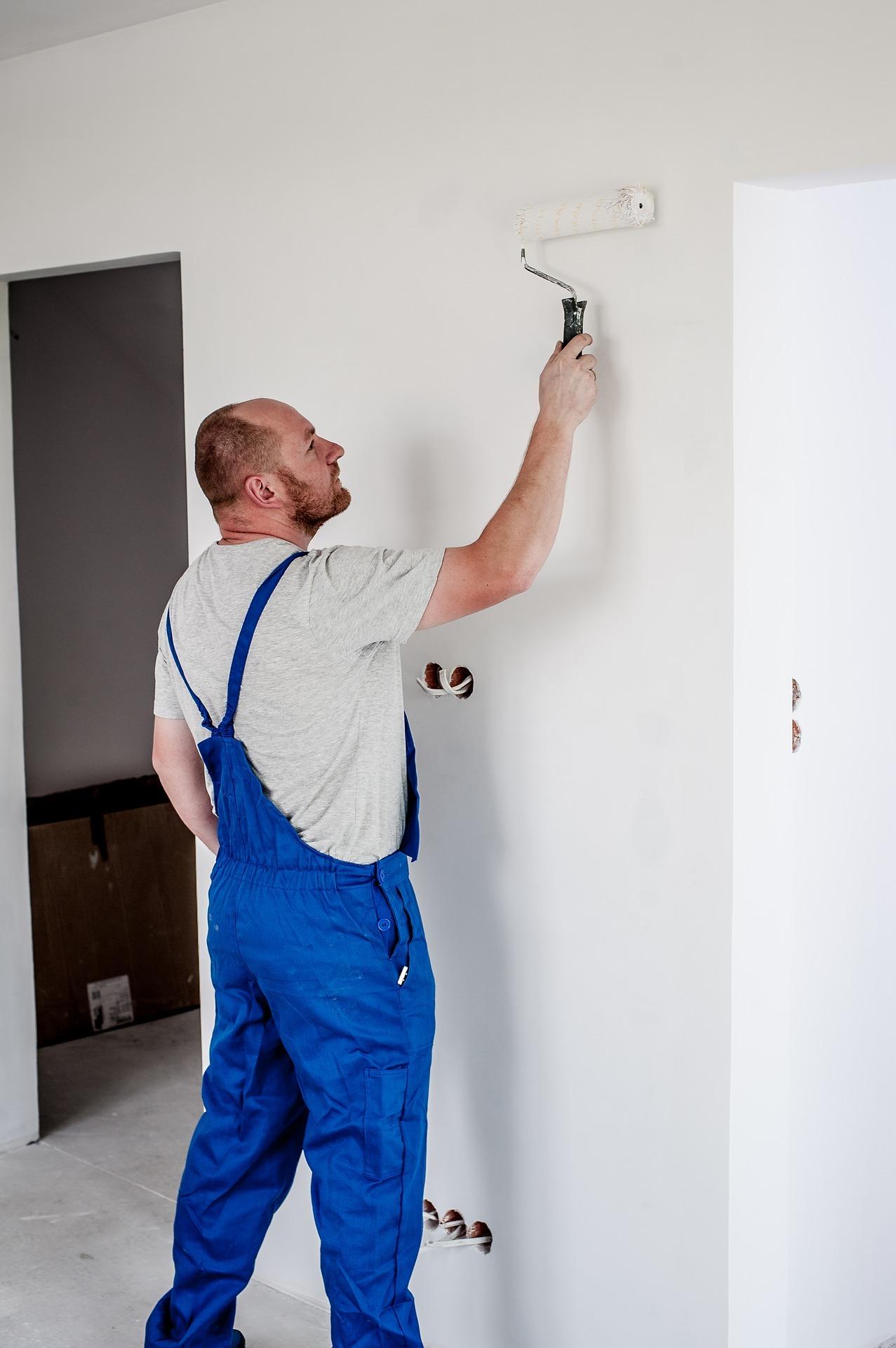 Maler und andere Handwerker sind oft Solo-Selbständige