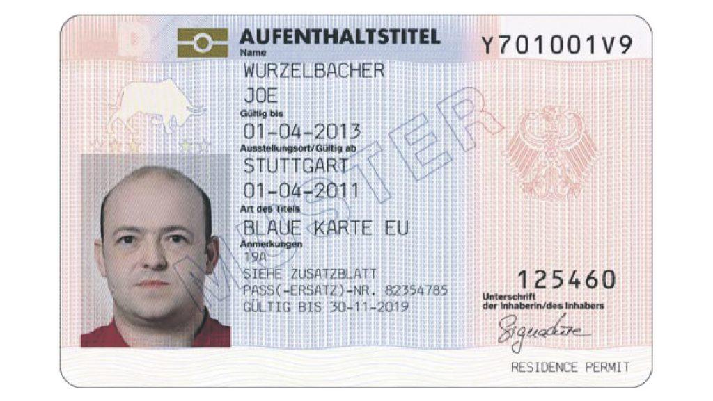 Die Blaue Karte EU – EU Blue Card